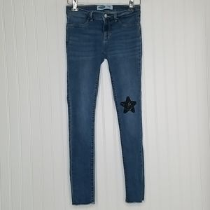 Girls Size 14 Old Navy Rockstar Jeggings Jeans